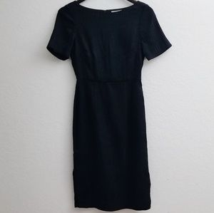 H & M sheath black dress